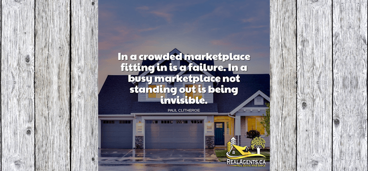In A Crowded Marketplace Fitting In Is A Failure
