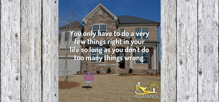 You Only Have To Do A Very Few Things Right In Your Life